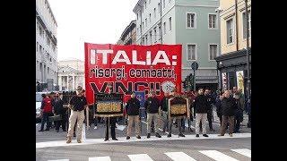 CasaPound, Trieste - Corteo per il centenario della Vittoria della Grande Guerra (Parte 1)