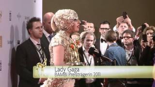 BAMBI 2011: Best of Lady Gaga beim BAMBI 2011 in Wiesbaden