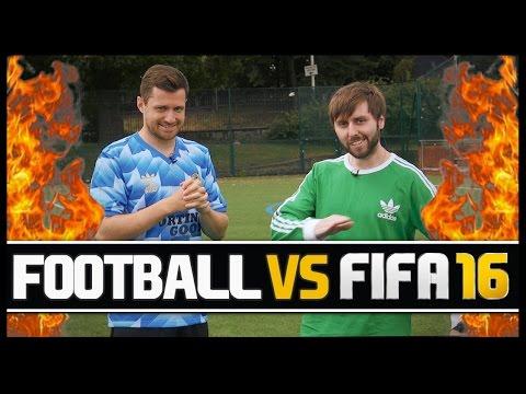 FOOTBALL VS FIFA WITH JAMES BUCKLEY!
