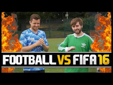 FOOTBALL VS FIFA WITH JAMES BUCKLEY!
