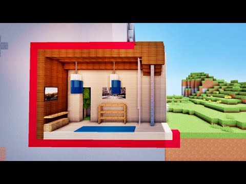 comment faire une maison sous terre sur minecraft tutoriel youtube. Black Bedroom Furniture Sets. Home Design Ideas