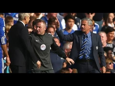 Jose Mourinho wants to be friends with Arsene Wenger