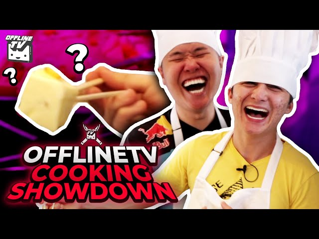 HE PUT WHAT IN THE FOOD? - OFFLINETV COOKING SHOWDOWN