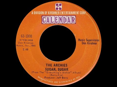 The Archies ~ Sugar Sugar 1969 Bubblegum Purrfecti Versi