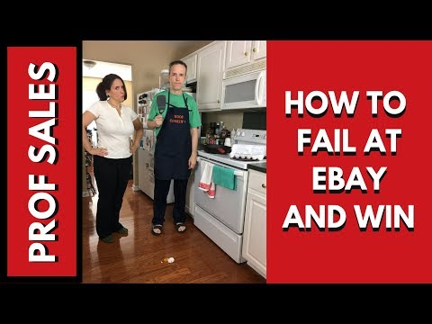 How to Fail at Ebay and Win Big