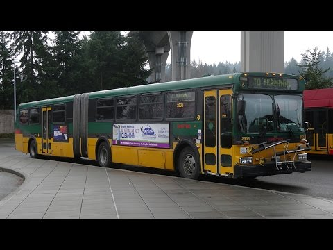 King County Metro New Flyer Industries Articulated bus model D60 #2535
