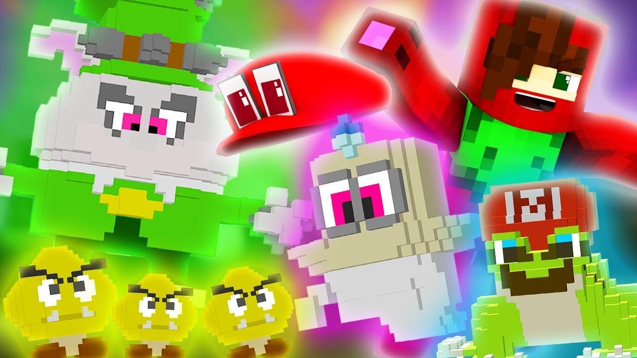 Minecraft Super Mario Odyssey Episode 1 CAP KINGDOM BEGINNINGS