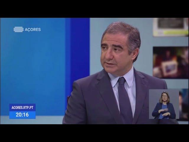 COVID-19. Entrevista de José Manuel Bolieiro à RTP/Açores