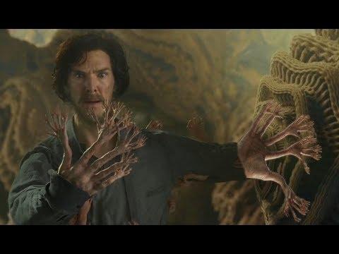 魔法世界驚壞醫學博士,長滿手指的雙手讓他終於相信魔法,電影《奇異博士》