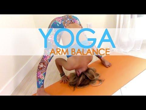 Yoga Arm Balance Practice, Build up to Firefly, Tittibhasana with Kino