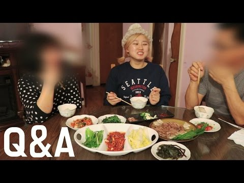 [ENG SUB]How to make Homemade Kimchi + Mukbang with my parents!