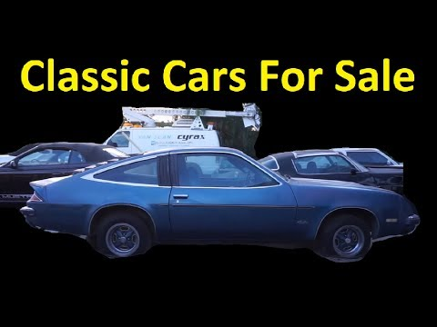 Classic Barn Find Car Sale Video Restoration Projects $400 to $4000