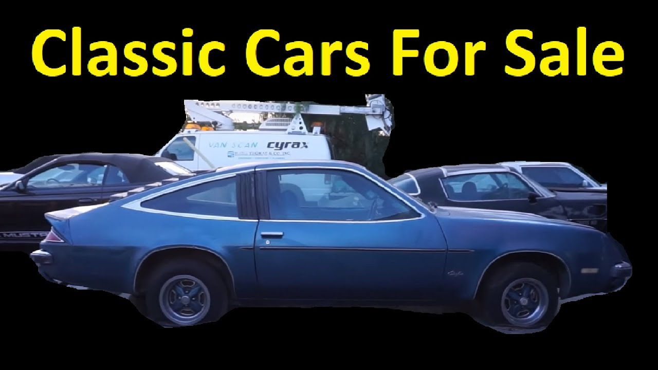 Classic Barn Find Car Sale Video Restoration Projects 400 To 4000