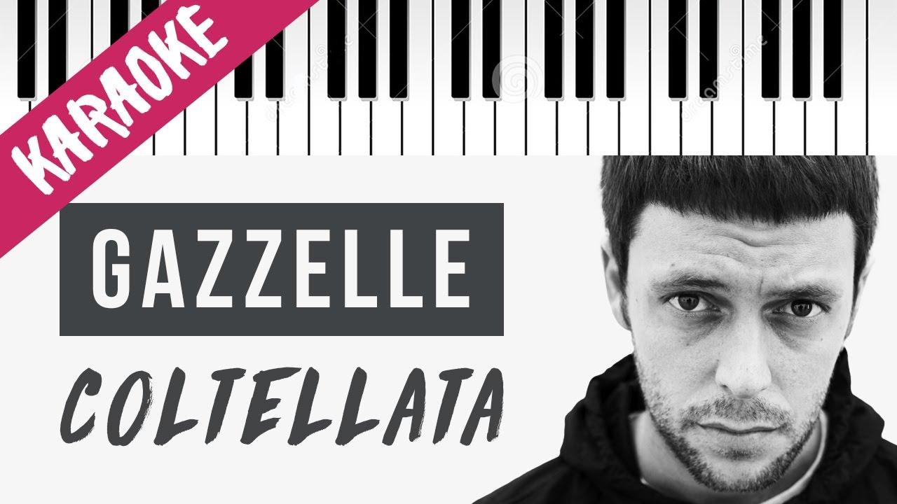 Download Gazzelle feat. tha Supreme | Coltellata // Piano Karaoke con Testo