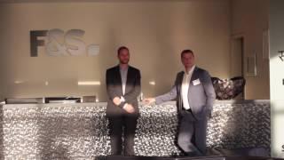 """Unternehmerfrüstück """"viertelvoracht"""" bei der F&S-Gruppe in Euskirchen"""