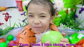 Yes Yes Fruits Song | Educational Nursery Rhymes & Kids Songs