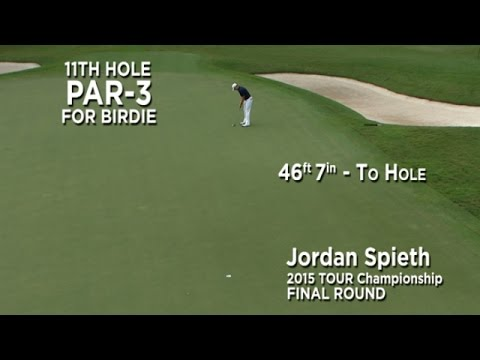 By the Numbers: Jordan Spieth's birdie bomb at the 2015 TOUR Championship