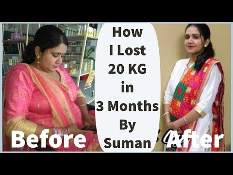 How I Lost 20 Kgs In 3 Months By SUMAN | Weight Loss Journey, Transformation & Motivation Tips