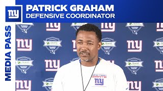 Patrick Graham: 'Nothing matters from last year' | New York Giants