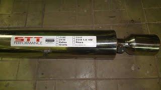 Ваз 21011,установка выхлопа 4-2-1.