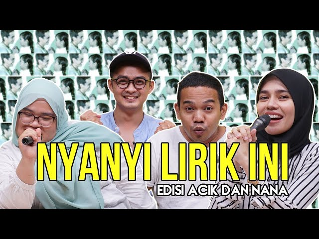 [NYANYI LIRIK INI] Edisi Lagu Bola Bola Api Achik Spin & Nana. Raz Kalah Akhirnya!