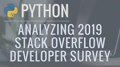 Python Data Science Tutorial: Analyzing the 2019 Stack Overflow Developer Survey