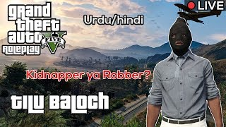 News Reporter ? - Tilu Baloch | GTA 5 Legacy Roleplay India Urdu/Hindi - QAYZER