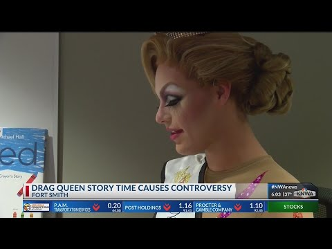 UAFS Students Gather for Drag Queen Story Time