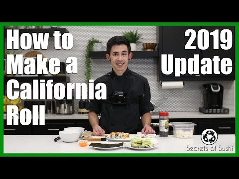 How To Make A California Roll 2019 Update Youtube