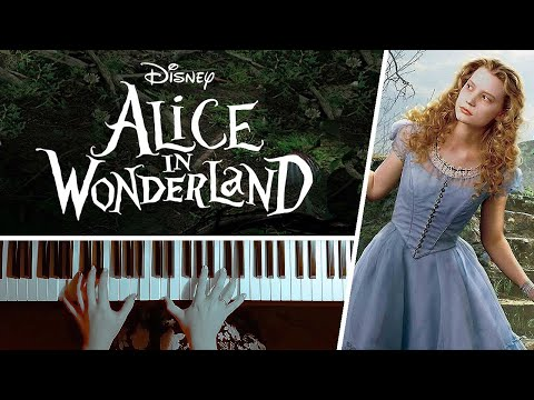 Alice's Theme from Tim Burton's Alice in Wonderland - Piano Cover
