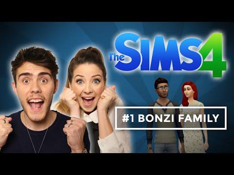 Introducing The Bonzi's | Zalfie Sims 4 #1