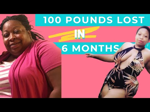 My 6 Month Weight-Loss Journey Down 100 Pounds