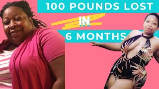 My 6 Month Weight-Loss Journey - Down 100 Pounds