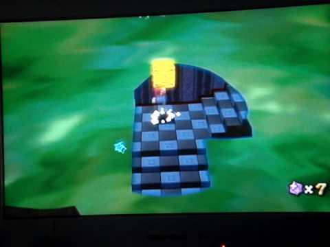 Super Mario Galaxy Walkthrough: Ghostly Galaxy Secret Star ...