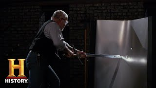 Forged in Fire: The Landsknecht Sword Tests (Season 5) | History