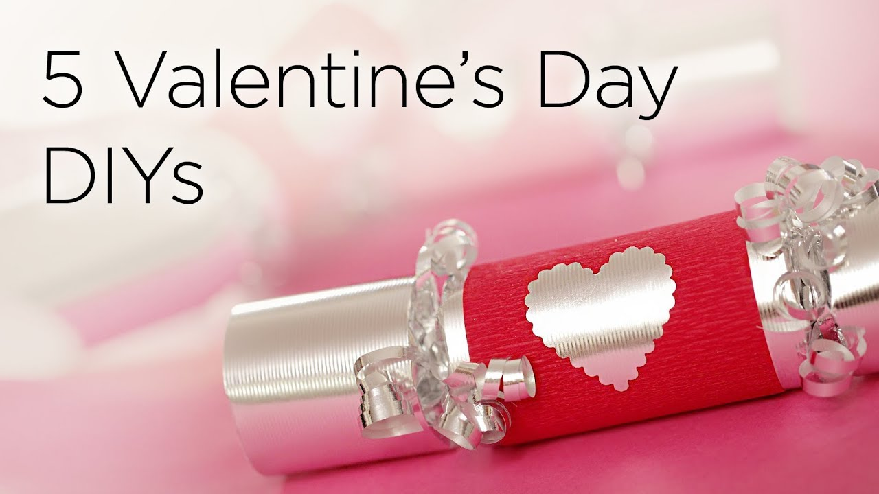 5 Cute Diy Valentines Day Gifts Treats Youtube