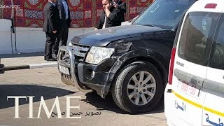 Palestinian Prime Minister Rami Hamdallah\'s Convoy Has Been Hit By An Explosion In Gaza | TIME
