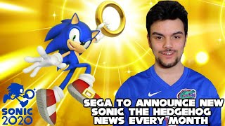 New Sonic The Hedgehog 2020 News & Announcements Coming Every Month