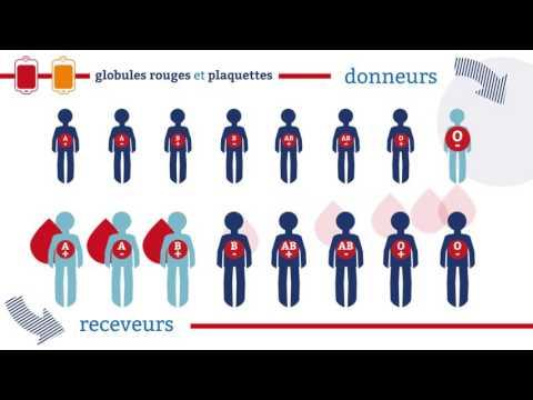 EFS - La compatibilite des groupes sanguins