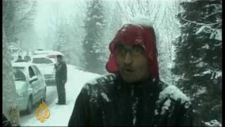 Northern India shivers in cold - 4 Jan 10