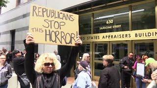Hundreds Protest Family Border Separations