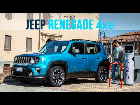 Essai Jeep Renegade 4xe Hybride Rechargeable 2020 Youtube