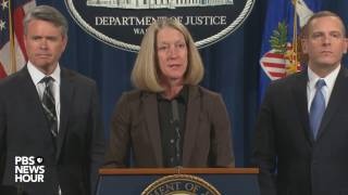Justice Department announces charges tied to Yahoo breach