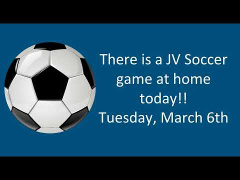 Aynor Middle School Daily Announcements 3-6-18