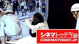 『劇場版 零~ゼロ~』のイベント「KADOKAWA ホラーヒロイン引継式」が行われ、主演の中条あやみ、共演の森川葵が出席。 映画『リング』の貞子...
