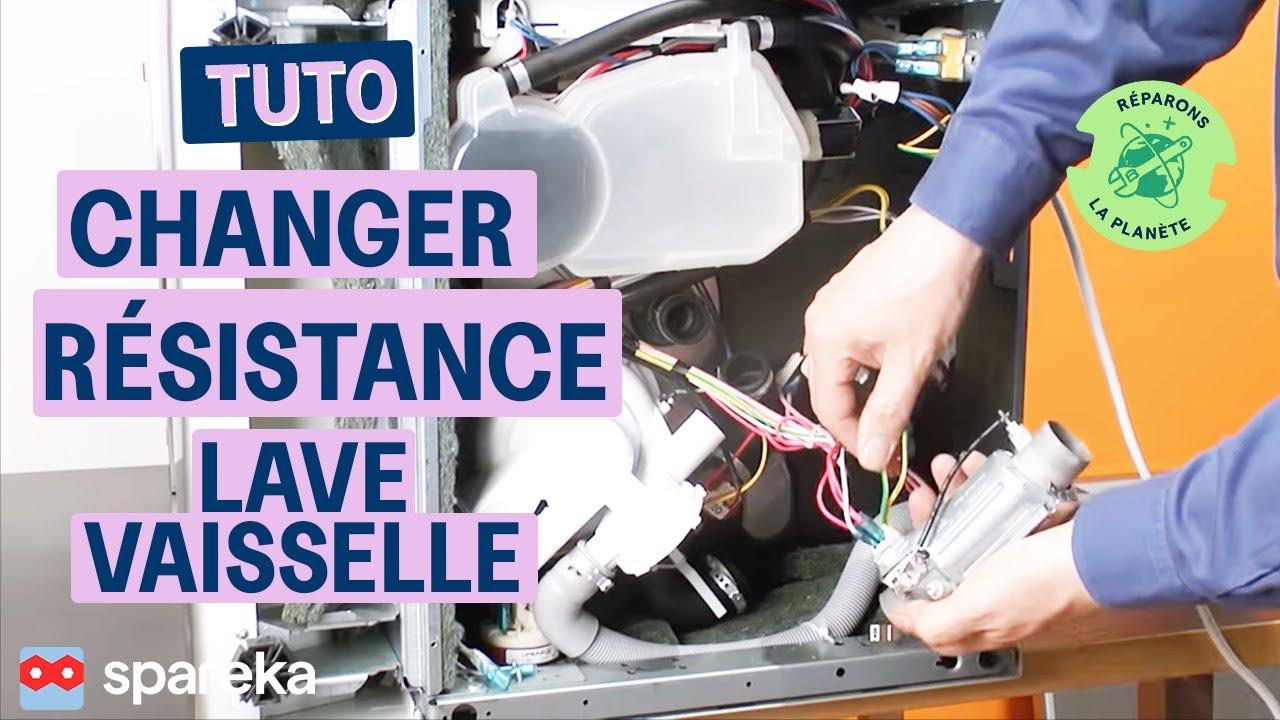 Comment Réparer Votre Lave Vaisselle Remplacer La Résistance
