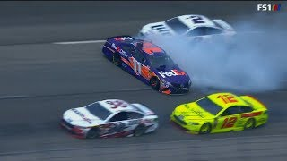 NASCAR Crashes From Texas - 4/7 - 4/8/2018 ( Live )