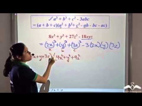 Factorization Of The Form (a3 + B3 + C3 - 3abc)