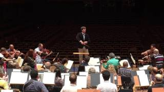 Mike Repper: Egmont Overture With Osesp   Rehearsal