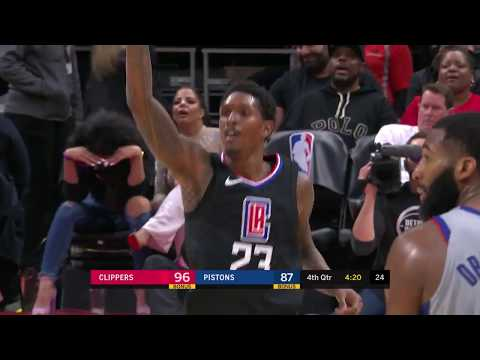 Lou Williams (26 points) Highlights vs Detroit Pistons 2-9-18